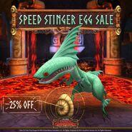 Speed Stinger Egg Sale