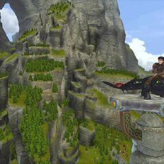 En Cómo Entrenar a tu Dragón 2, el videojuego