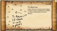 To America