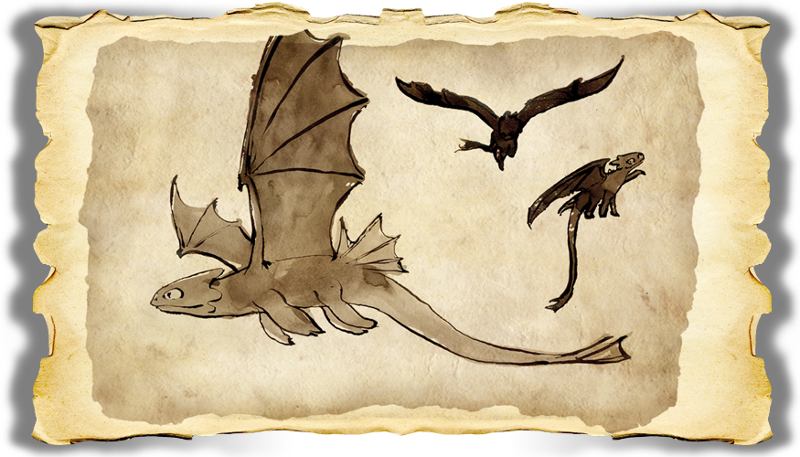 Image dragons bod nightfury gallery image how - Dragons furie nocturne ...