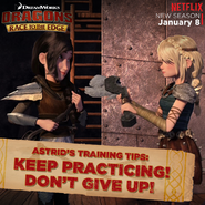 Astrid's Training Tips