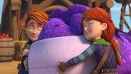 GOH - Dak and Leyla hugging Burple