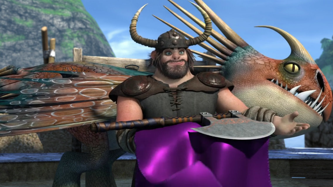 Snotlout gets the axe how to train your dragon wiki fandom snotlout gets the axe ccuart Gallery