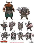 Berserker chief concept