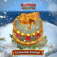 Gronckle Statue