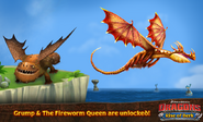 ROB-Grump and Fireworm Queen Ad