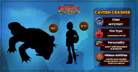 ROB - Cavern Crasher Stats