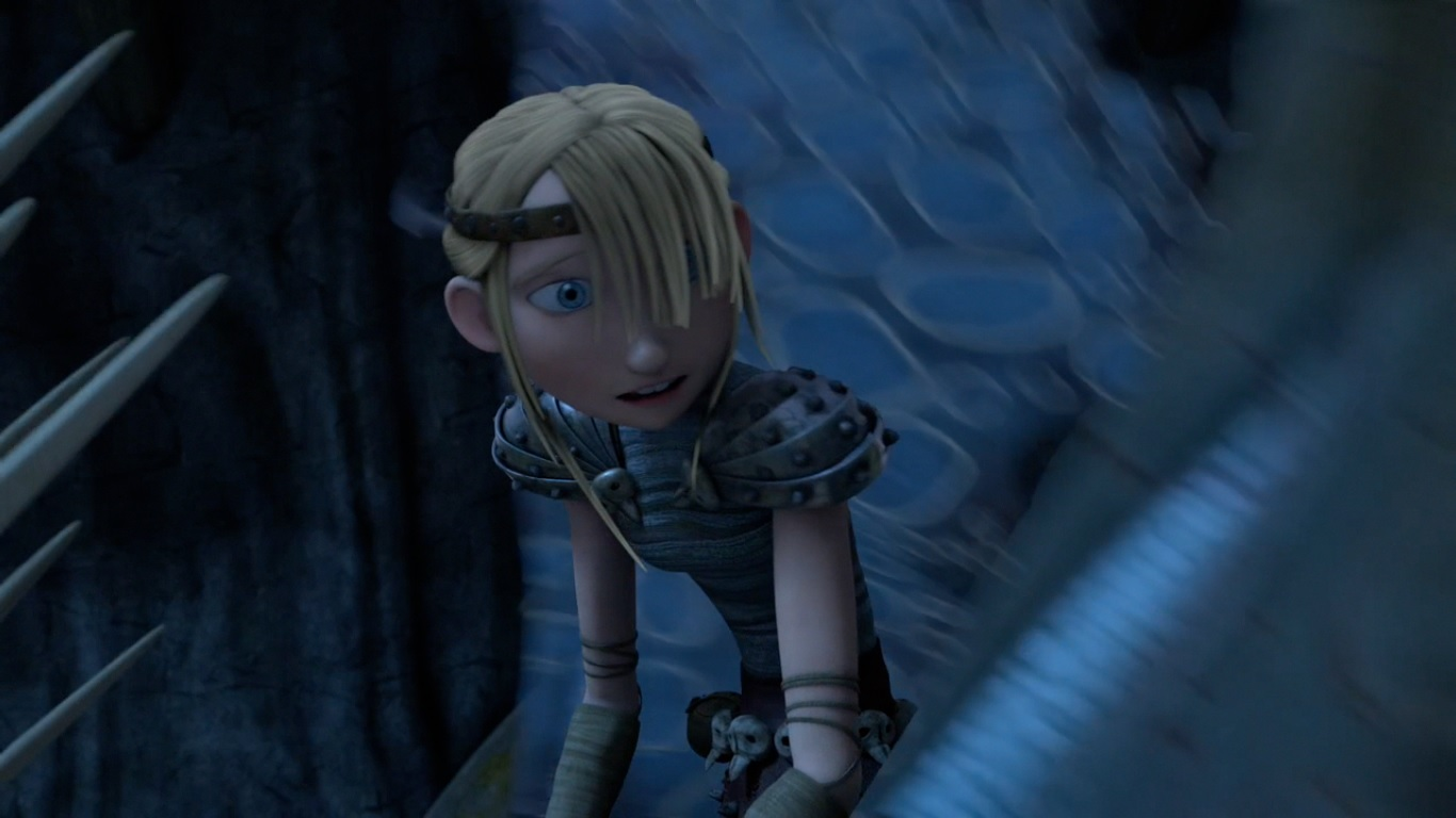 Astrid how to train your dragon