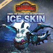 Eruptodon Ice Skin