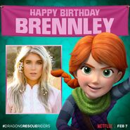 Happy Birthday Brennley