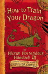 How to Train Your Dragon First Edition Cover