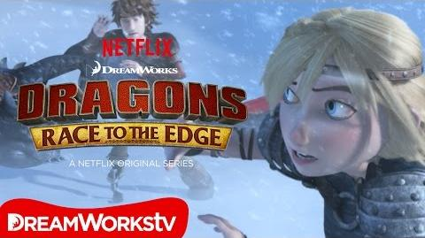 A Chilly Reception DRAGONS RACE TO THE EDGE
