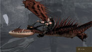 Snotlout on Hookfang HTTYD