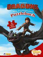 """DreamWorks Dragons """"Auf zu neuen Ufern"""" Mein drachenstarkes Puzzlebuch"""