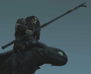 Drago's Bullhook | How to Train Your Dragon Wiki | FANDOM ... | 350 x 285 jpeg 6kB