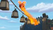 TH - Aggro lighting up the lanterns with her fire
