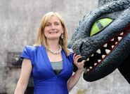 Cressida with Toothless