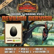 Devilish Dervish Egg Sale