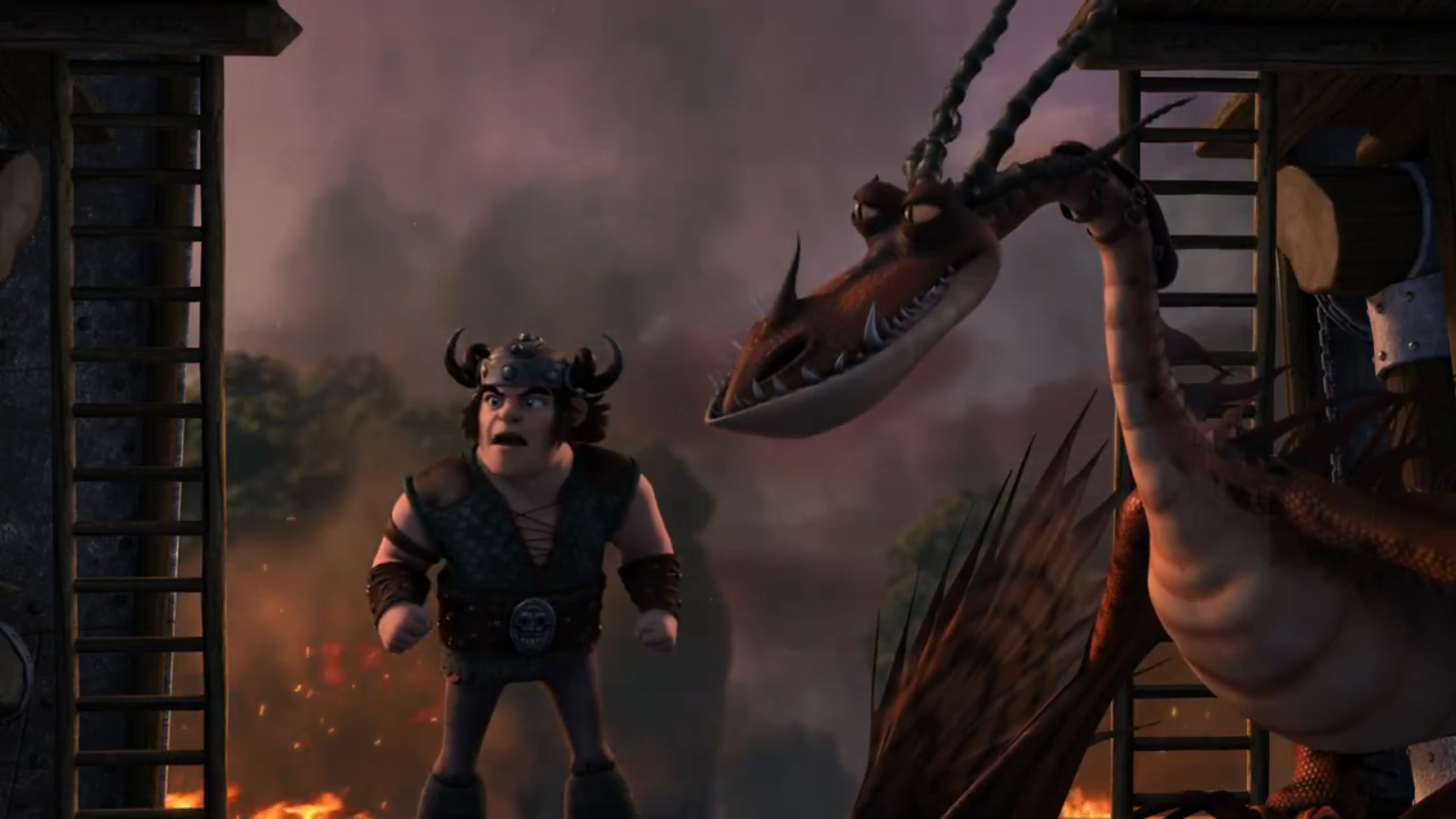 snotlout how to train your dragon