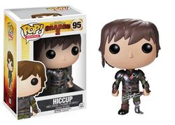 Hiccup and his dragon blade toy