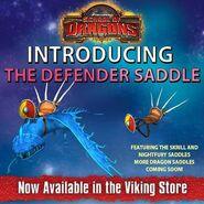 Defender Saddles