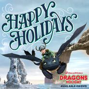Dragons Holiday promo