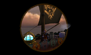 Harald sailing away