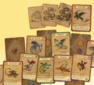 Hidden World Dragon Cards