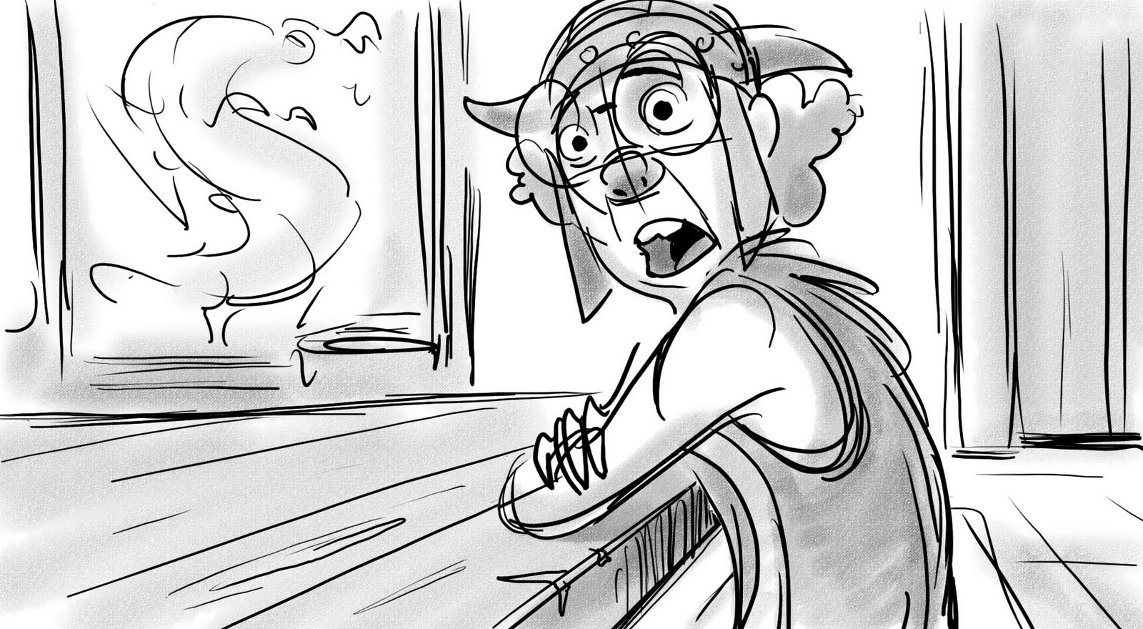 How To Train Your Dragon Storyboard 2