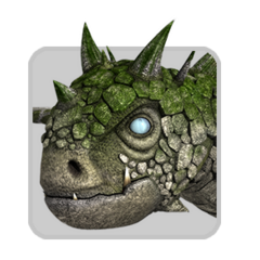 Ícono en la Dragonpedia