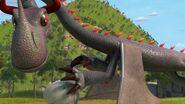 HA - One of the slinkwings grabbing an egg