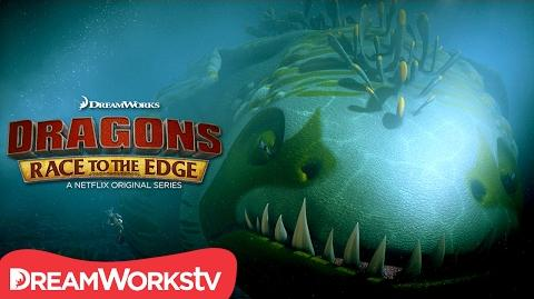 """Diving for Dragons"" Clip DRAGONS RACE TO THE EDGE"