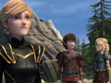 Gallery: Astrid and Hiccup's Relationship / Dragons: Race to the Edge, Season 4