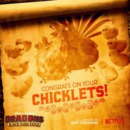 Congrats on your chicklets promo