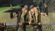 Twintuition scene, Ruff and tuff