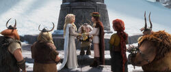 THW-Astrid, Astrid's Parents, Gobber, Gothi, Hiccup, Valka