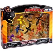 Ultimate Battle Figure Collection 12-Pack PVC Figure Set