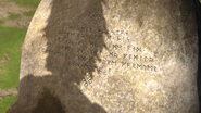 The text of the rock