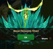 Titan Royal Fireworm