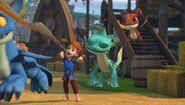 GOH - Dak and the dragons celebrating