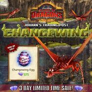 Changewing Egg Sale SoD