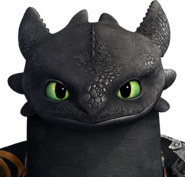 Toothless RTTE Render