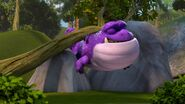 WTS - Burple having gotten stuck while chasing Aggro