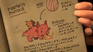 IO - The hideous heatwing page in the dragon diary