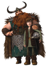 Stoick and Hiccup