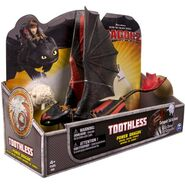 Toothless Action Figure Catapult Tail Action Power Dragons2