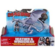 Heather & Windshear Dragon Riders Action Figure Package