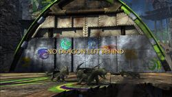 No Dragon Left Behind title card