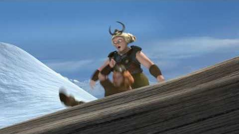 How to Train Your Dragon (Snowboarding)
