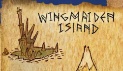 Wingmaiden Island on the map